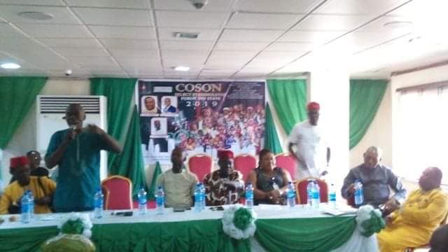 Stakeholders Extol Okoroji's Leadership, Ask Gov. Ihedioha for Pledged Land to Build COSON House In Owerri